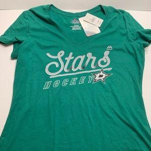 Majestic women's Dallas stars shirt